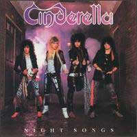 [Cinderella Night Songs Album Cover]