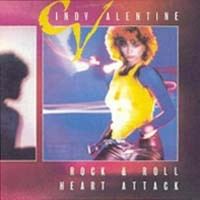[Cindy Valentine Rock and Roll Heart Attack Album Cover]