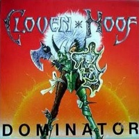 [Cloven Hoof Dominator Album Cover]