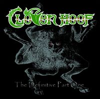 [Cloven Hoof The Definitive Part One Album Cover]
