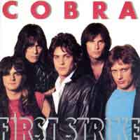 Cobra First Strike Album Cover