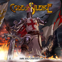 [Code Of Silence Dark Skies Over Babylon Album Cover]