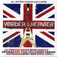 [Compilations Harder and Heavier: 60's British Invasion Goes Metal Album Cover]