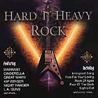 [Compilations Hard 'N' Heavy Rock Album Cover]
