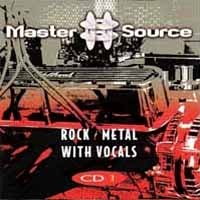 [Compilations Master Source Rock / Metal With Vocals CD 1 Album Cover]
