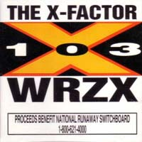 [Compilations The X-Factor (Solid Rock 103 WRZX) Album Cover]