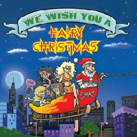 [Compilations We Wish You A Hairy Christmas Album Cover]