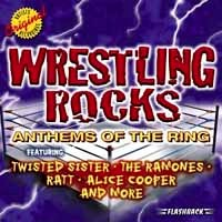 [Compilations Wrestling Rocks - Anthems of the Ring Album Cover]