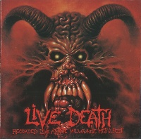 [Various Artists Live Death - Recorded Live at the Milwaukee Metalfest  Album Cover]