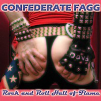 Confederate Fagg Rock and Roll Hall of Flame Album Cover