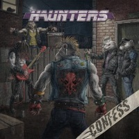 [Confess Haunters Album Cover]