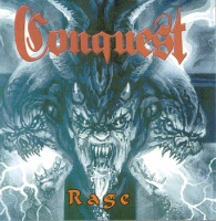 [Conquest Rage Album Cover]