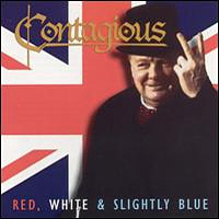 [Contagious Red, White And Slightly Blue Album Cover]