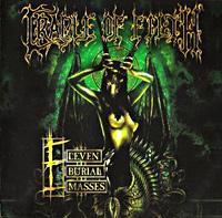 [Cradle of Filth Eleven Burial Masses Album Cover]