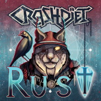 [Crashdiet Rust Album Cover]