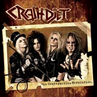 [Crashdiet The Unattractive Revolution Album Cover]