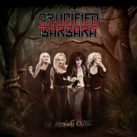 [Crucified Barbara The Midnight Chase Album Cover]
