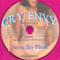 Cry Envy Never Say Please Album Cover