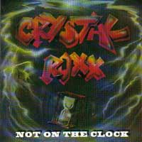[Crystal Roxx Not On the Clock Album Cover]