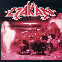 Czakan State Of Confusion Album Cover