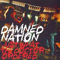 [Damned Nation Just What the Doctor Ordered Album Cover]