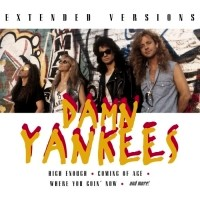 [Damn Yankees Extended Versions Album Cover]