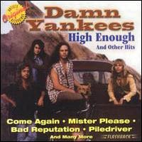 [Damn Yankees High Enough And Other Hits Album Cover]