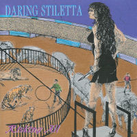 [Daring Stiletta Risking All Album Cover]