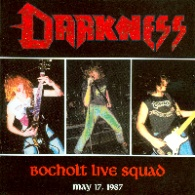 [Darkness Bocholt Live Squad Album Cover]