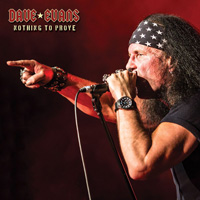 [Dave Evans Nothing To Prove  Album Cover]