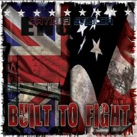 [David A Saylor Built 2 Fight Album Cover]