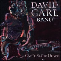 [David Carl Band Can't Slow Down Album Cover]