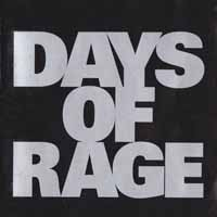 [Days of Rage Days of Rage Album Cover]