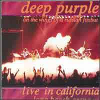 [Deep Purple Live in Califonia 1976: On the Wings of a Russian Foxbat Album Cover]