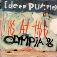 [Deep Purple Live at the Olympia 96 Album Cover]