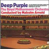 [Deep Purple Concerto for Group and Orchestra Album Cover]