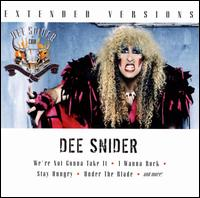 [Dee Snider Extended Versions Album Cover]