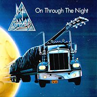 [Def Leppard On Through The Night Album Cover]