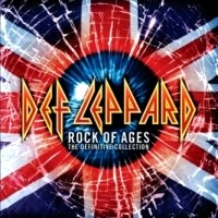 [Def Leppard Rock Of Ages: The Definitive Collection Album Cover]