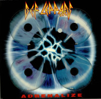 Def Leppard Adrenalize Singles Collectors Box Album Cover