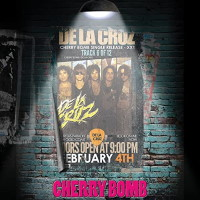 De La Cruz Cherry Bomb Album Cover