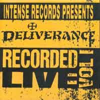 [Deliverance Intense Live Series No. 1 Album Cover]