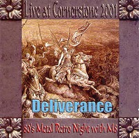 [Deliverance Live at Cornerstone 2001 Album Cover]