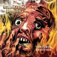 [Demolition Hammer Tortured Existance Album Cover]