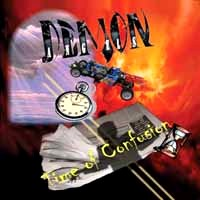 [Demon Angels Time Of Confusion Album Cover]