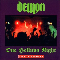 [Demon One Helluva Night - Live In Germany Album Cover]