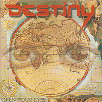 [Destiny Open Your Eyes Album Cover]