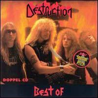 [Destruction Best of Destruction Album Cover]