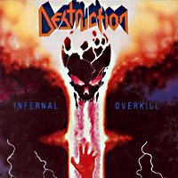 [Destruction Infernal Overkill Album Cover]