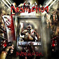 [Destruction Inventor of Evil Album Cover]